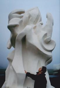 sculpture rond-point